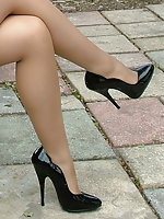 May be you have just seen a girl like Amy walking along your local high street in very high heels and a short tight skirt. You felt your passion rising but you just couldn't get a good enough look at her to fulfil your desires. Well here's your chance to